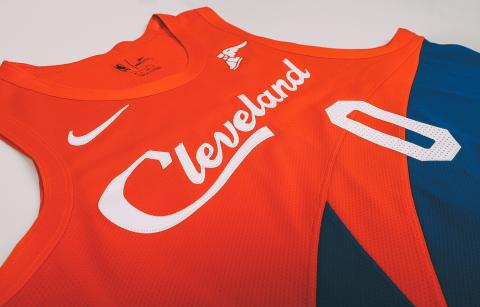 Cleveland Cavs City Edition uniform