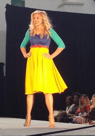 Ursuline College fashion show, Cleveland