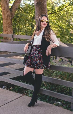Local blogger Amanda writes for Closeted Fashion
