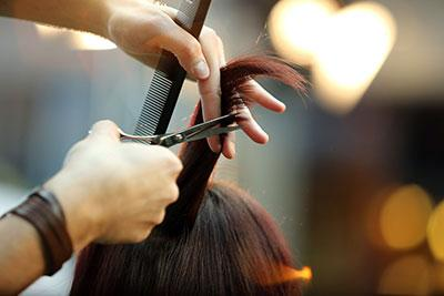 Free back-to-school haircuts at Remington College, Cleveland, Ohio