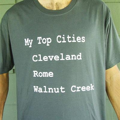 My Top 3 Shirt, Cleveland, Ohio
